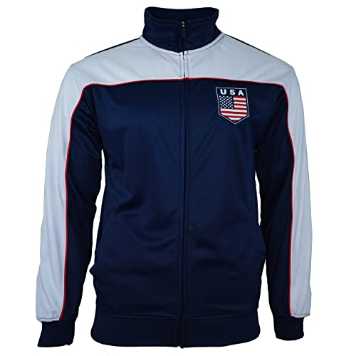 Rhinox USA US Jacket Adult Track Soccer Adult Sizes Soccer Football