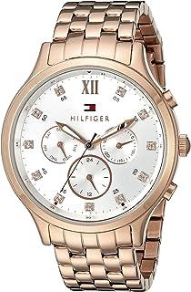 Tommy Hilfiger Women's 1781611 Sophisticated Sport Analog Display Quartz Rose Gold Watch