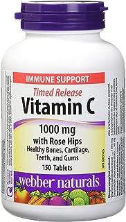 Webber Naturals Vitamin C Time Release 1000 mg, 150 tablets