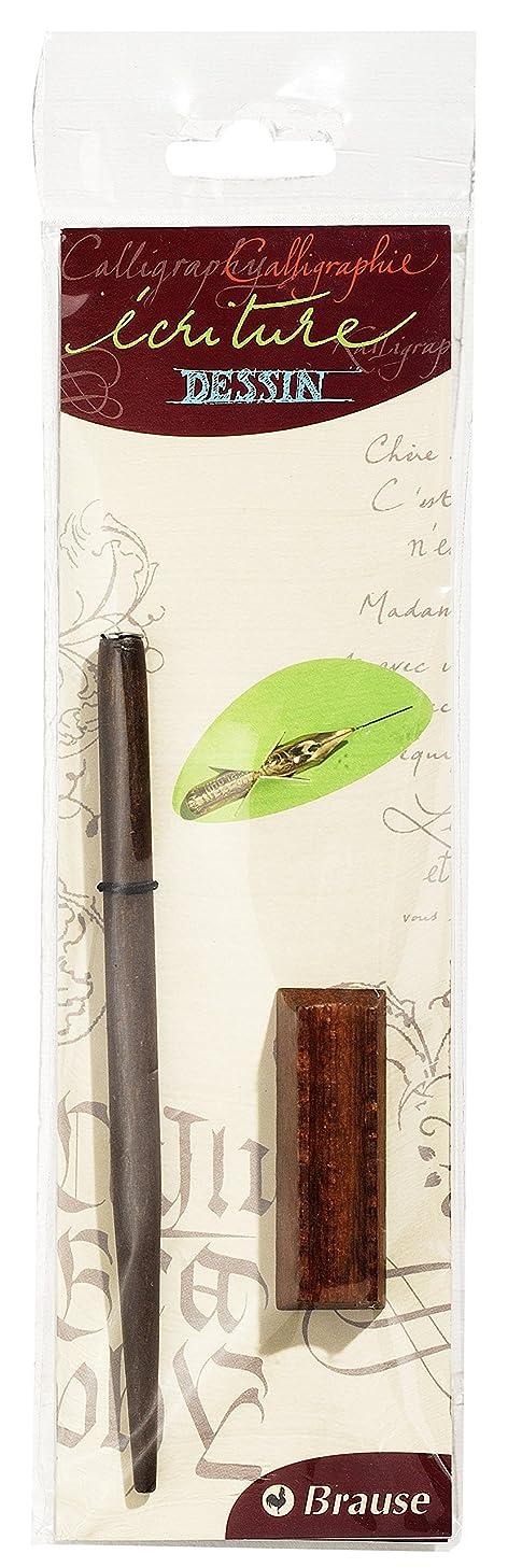 Brause Ink Dip Pen Set - Nib Holder, Cito Fein Nib and Rest