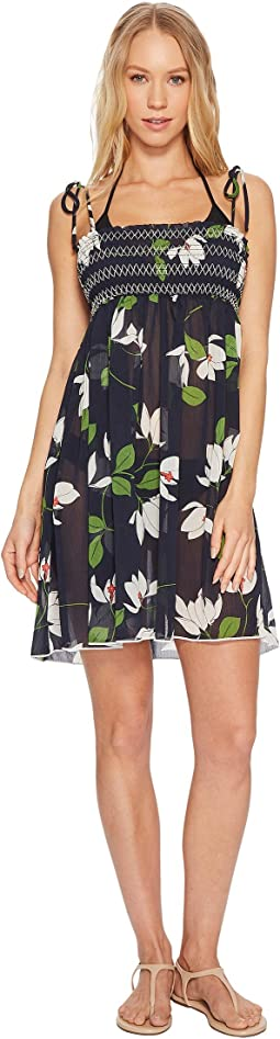 Robin Piccone - Elisa Sheer Babydoll Dress Cover-Up