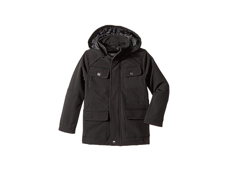 Urban Republic Kids Softshell Bonded Jacket (Little Kids/Big Kids) (Black) Boy