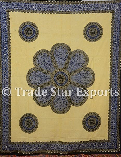 Mandala Wall Hanging art Bedspread Bed sheet Ethnic Cover Tapestry