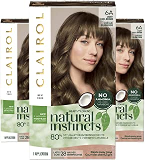 Best clairol natural instincts light brown Reviews