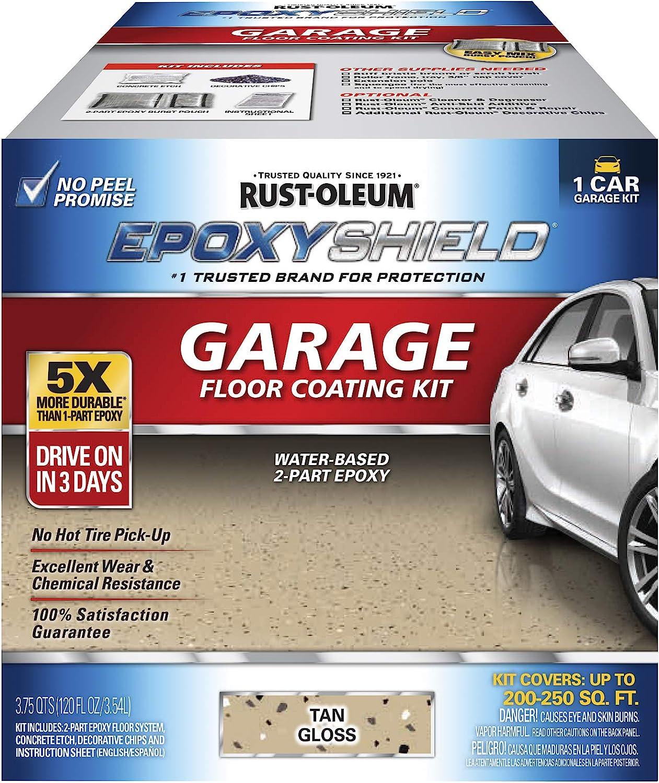 trust Rust-Oleum 251966 EPOXYSHIELD Miami Mall Garage Floor 1 T Coating Car Kit