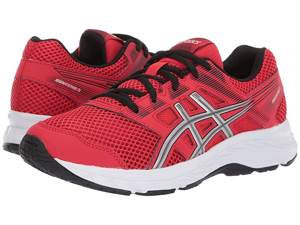 ASICS Kids Gel-Contend 5 GS (Big Kid) (Classic Red/Silver) Boys Shoes