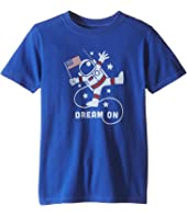 Life is Good Kids - Astronaut Dream Crusher Tee (Little Kids/Big Kids)