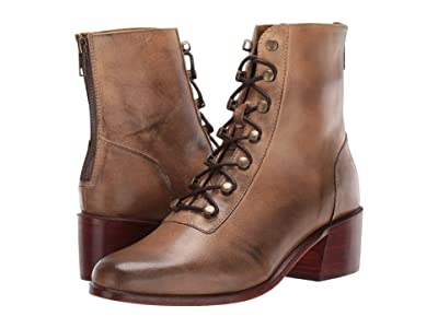 Free People Eberly Lace-Up Boot (Brown) Women