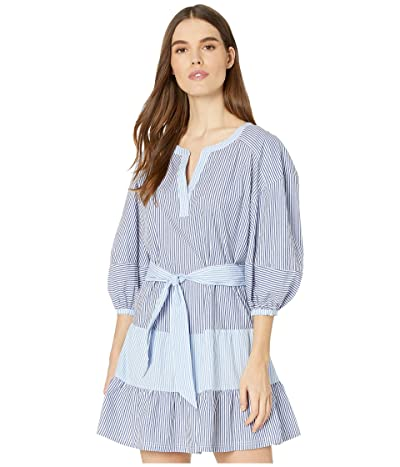 Parker Jenna Combo Dress (Coastal Stripe) Women