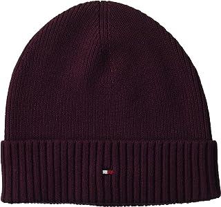 قبعة صغيرة قطنية بيما للرجال من تومي هيلفجر، (لون بربل فيه)، من قطعة واحدة (مقاس: OS)