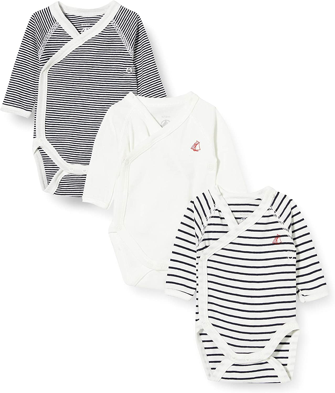 Petit Bateau Jungen Baby und Kleinkind-Unterw/äscheset