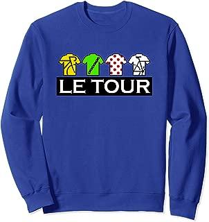 Tour Funny Cycling Tour T-Shirt, France Cycling Fan T Shirt Sweatshirt