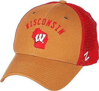 wisconsin badgers trucker hat