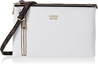 GUESS womens Naya Double Zip Crossbody MINI-BAGS