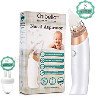 Abicial Newborn Baby Safety Nose Cleaner Vacuum Suction Nasal Aspirator Flu Protector