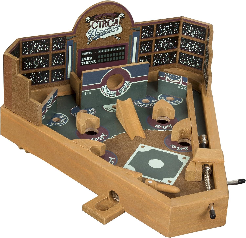 Hey Boston Mall Play Baseball Pinball Tabletop Luxury Classic - Skill Game Miniat