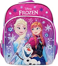 Disney Frozen Toddler Backpack - Small 10 inch Backpack - Snowflakes