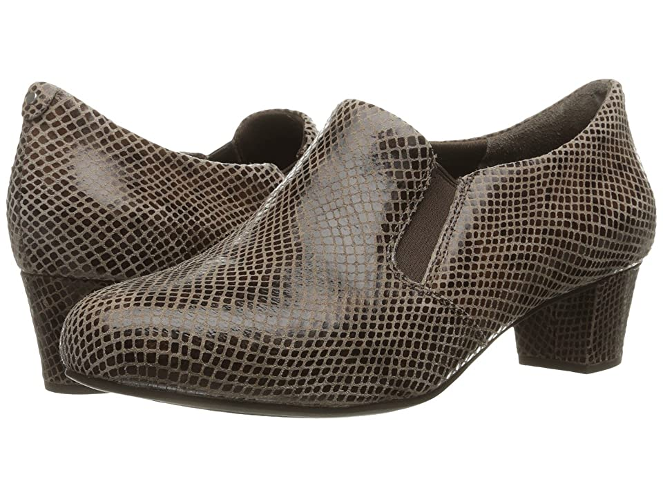 Rockport Total Motion Cherene (New Taupe Shiny Python) Women
