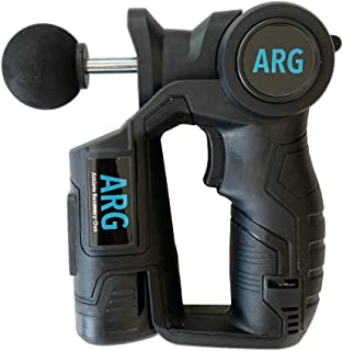 ARG Massage Gun - Athletic Deep Tissue Massager for Muscle Recovery … (Black)