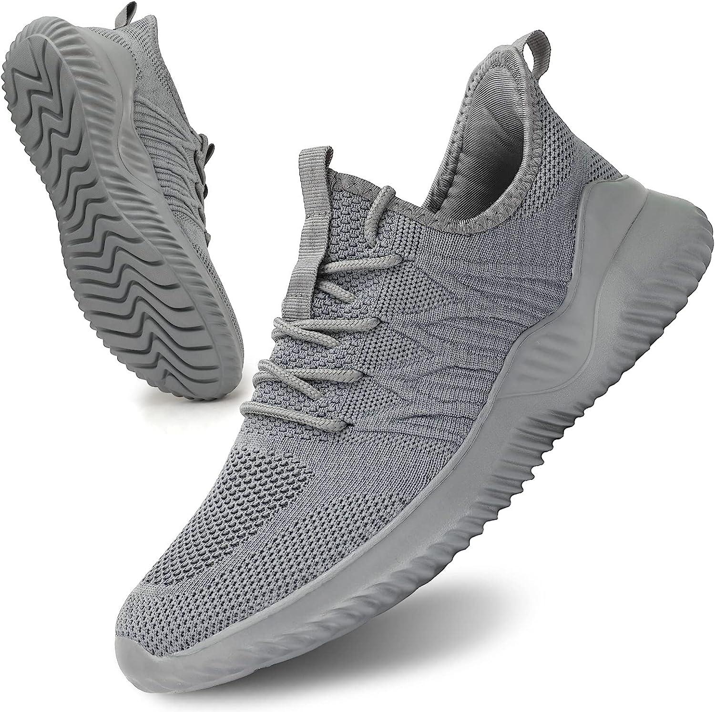 Socviis Mens Slip On Bargain Running Trainers Athletic Walking Lig Shoes Store