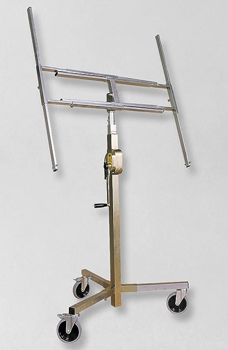 Alzalastre,telescopico,a cremagliera,ruote smontabili akifix nap01001  akifix s.p.a.