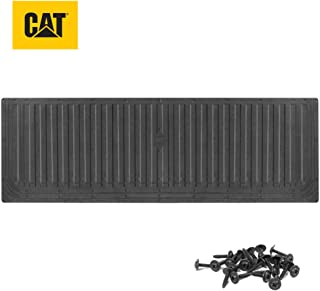 Caterpillar Ultra Tough Heavy Duty Truck Tailgate Mat/Pad/Protector - Universal Trim-to-Fit Extra-Thick Rubber for All Pic...