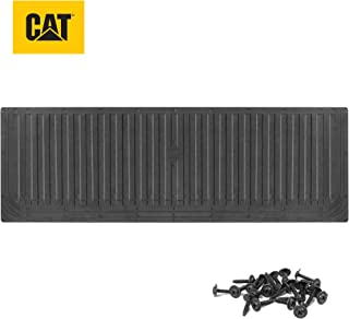Caterpillar Ultra Tough Heavy Duty Truck Tailgate Mat/Pad/Protector - Universal Trim-to-Fit Extra-Thick Rubber for All Pickup Trucks 62' x 21' (CAMT-1509)