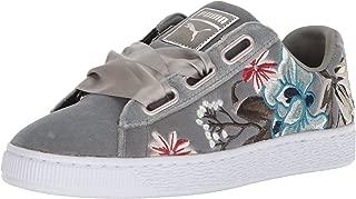 PUMA Women's Basket Heart Hyper Embossed Wn Sneaker