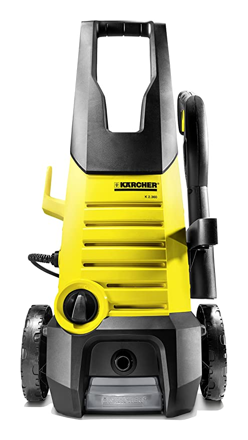 karcher k2.360 1400 watt high pressure home and car washer with wheels  120 bar, 6m cable  Pressure Washers, Steam   Window Cleaners