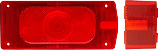 Optronics A36R Red Tail and Side Marker Light Replacement Lens Set
