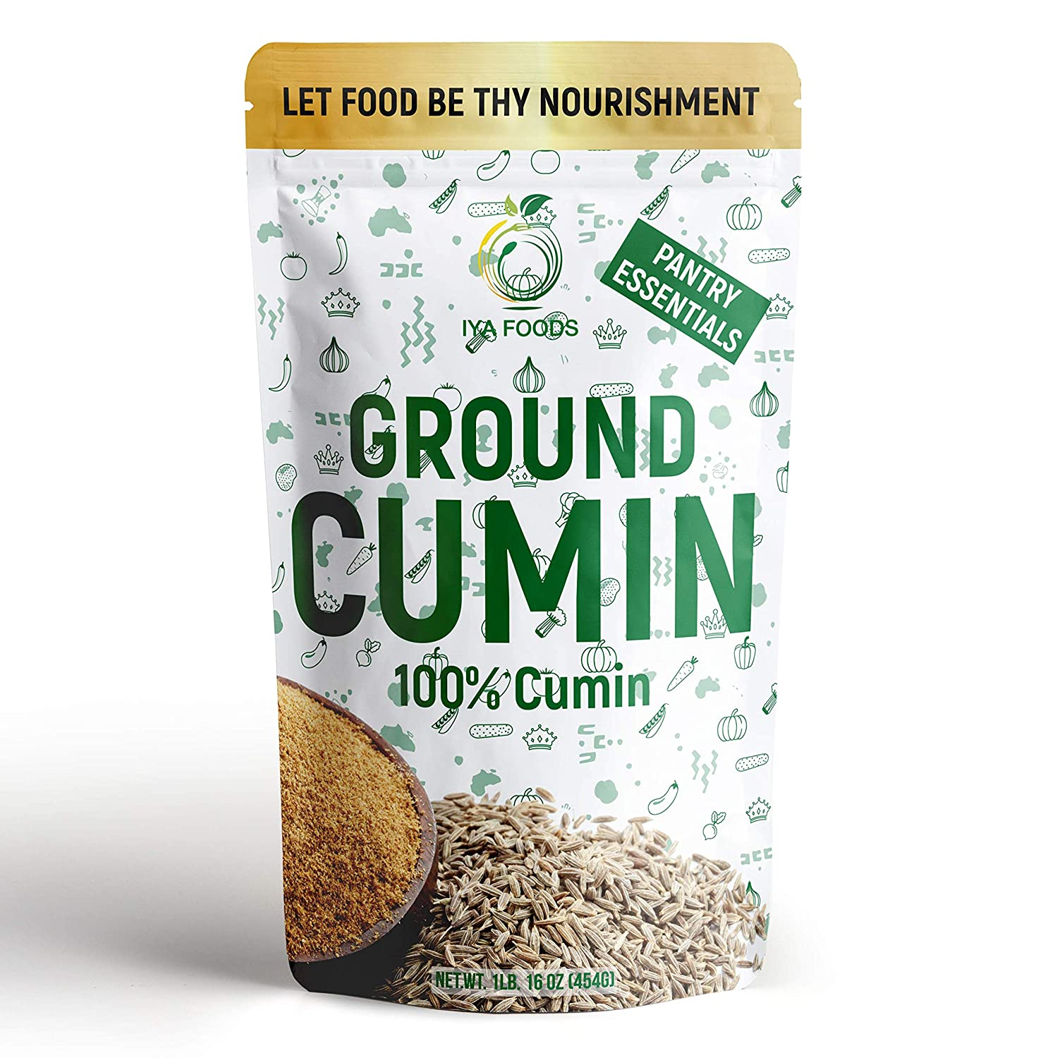 Iya shopping Foods Cumin Seed Ground 1 from 100% Pack Made Ranking TOP5 lb