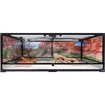 Carolina Custom Cages Terrarium, Extra-Long Deep 48Lx24Dx18H, Easy Assembly