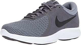 Men's Revolution 4 Running Shoe, Dark Black-Cool...