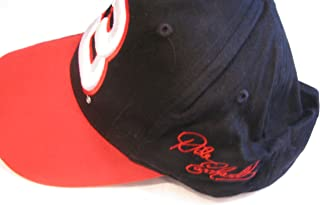 Small-Medium Adult Adjustable Dale Earnhardt Sr #3 RCR Black With Red White Accents Large Raised Embroidered # White 3 Hat Cap OSFM Competitors View