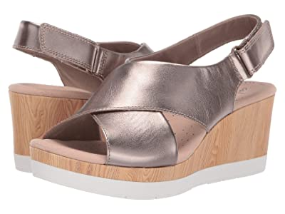Clarks Cammy Pearl (Pewter Leather) Women