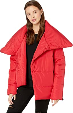Asymmetrical Puffer Jacket