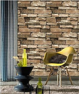 DWIIND D1016 Stone Peel and Stick Wallpaper Paper Self Adhesive for Bedroom Livingroom