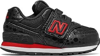 (ニューバランス) New Balance 靴?シューズ キッズランニング 574 Disney Black with Red ブラック レッド US 6.5 (24.5cm)