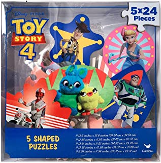 Toy Story 4 Shaped Puzzles