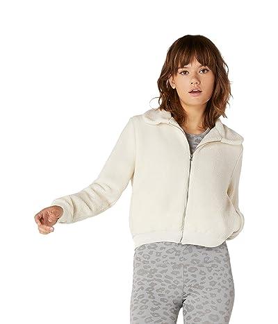 Beyond Yoga All Time Bomber Jacket (Cream Sherpa) Women