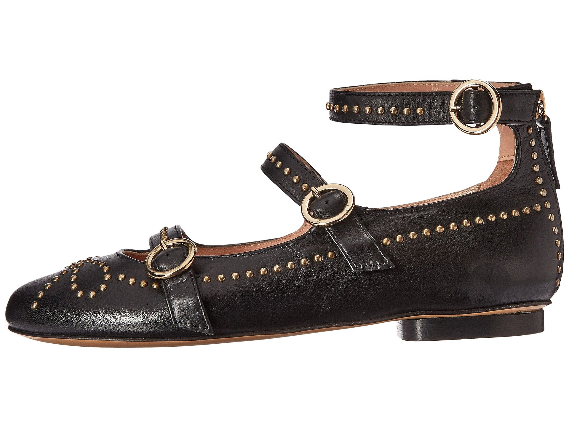 Boutique Moschino Studded Strappy Flat wqWjTMiq