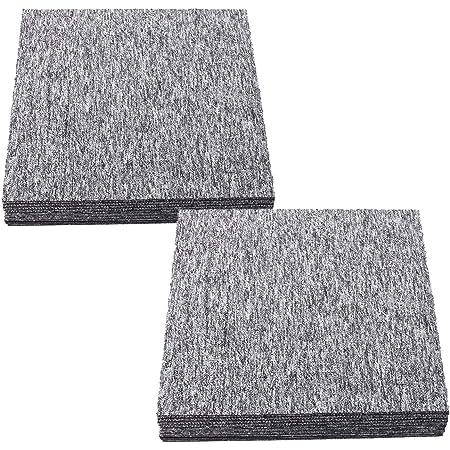Nadelvlies B/üro Messe Teppichboden 2,00m x 3,00m Bodenbelag Auslegware Meterware Gr/ün Antistatischer Nadelfilz Teppichboden Meterware MERLIN Schwer Entflammbar Strapazierf/ähiger