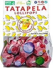 All Natural Lollipops Mango Apricot Hazelnut, No Added Sugar, Gluten Free, Non-GMO, Vegan, Great for Kids, 12 lollipops, 5...