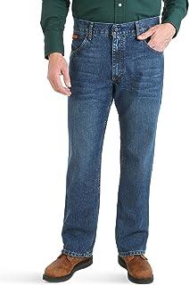 Wrangler Authentics Men's Fr Flame Resistant Retro Advanced Comfort Slim Fit Boot Cut Jean