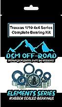 Traxxas Slash 4x4, Rustler 4x4, Stampede 4x4, 1/10 Rally & Telluride Bearing kit Set (21 Bearings) - by DSM Off-Road