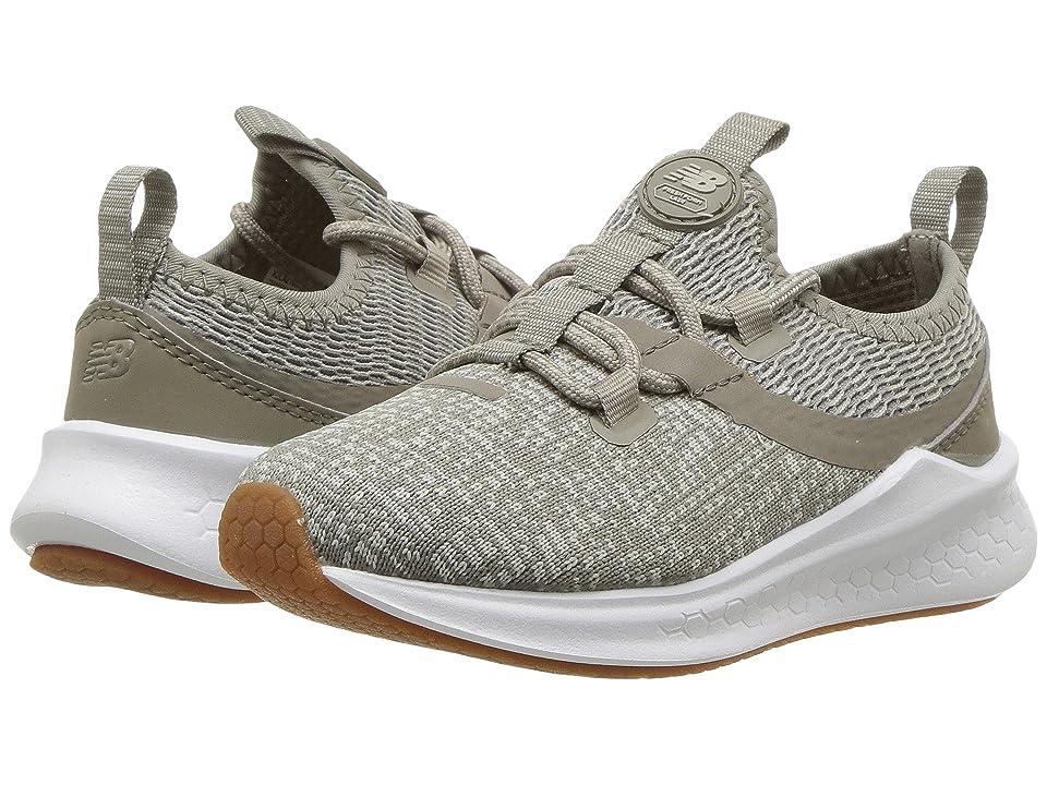 New Balance Kids KJLAZv1I (Infant/Toddler) (Grey/Military Urban Green) Boys Shoes