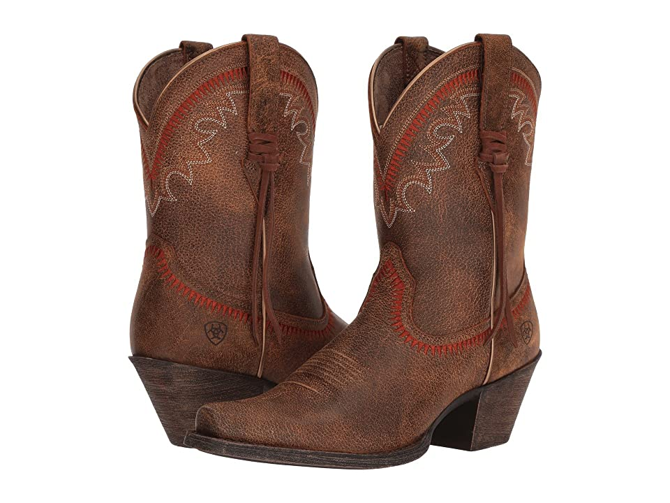 Ariat Round Up Aztec (Vintage Bomber) Cowboy Boots