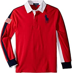 Cotton Jersey Rugby Shirt (Big Kids)