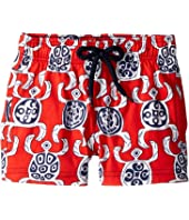 Vilebrequin Kids - Primitive Turtles Swim Trunk (Toddler/Little Kids/Big Kids)