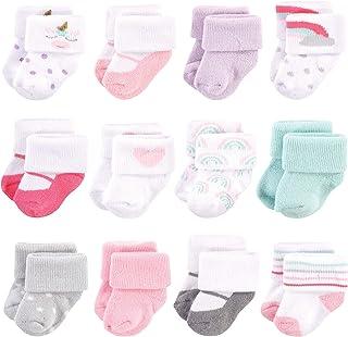 Hudson Baby Basic Socks, 8 Pack
